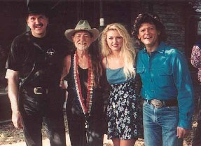 Randy Willis, Willie Nelson, Johnny Rodriguez
