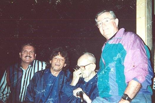 Randy Willis, Johnny Rodriguez, Author James Michener, Darrell Royal