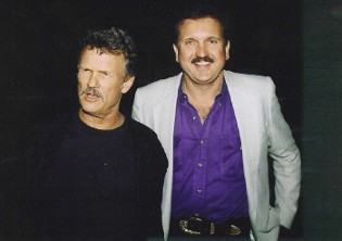 Randy Willis and Kris Kristofferson