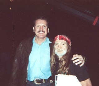 Randy Willis and Willie Nelson