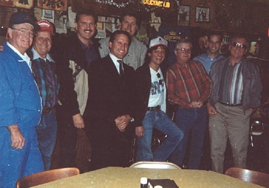 Darrell Royal, James White, Randy Willis, James Street, Doug English, Johnny Rodriguez