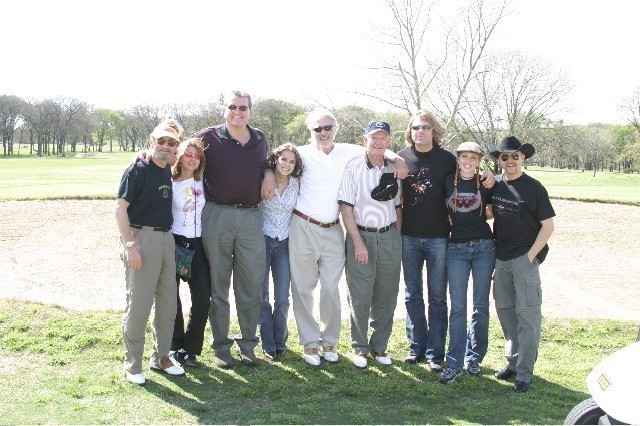 Freddy Powers, Catherine Powers, Randy Willis, Kimarie Lynn, Sonny Throckmorton, Darrell Royal, Big Kenny, Pauline Reese, John Rich