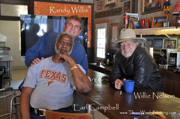 randy willis, willie nelson, earl campbell